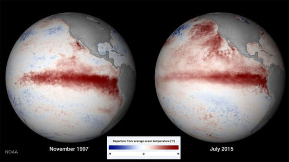 2015 El Nino event looking strong