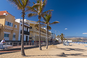 Las Canteras beachfront