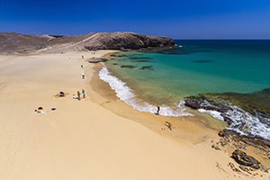 Papagayo beaches in south Lanzarote