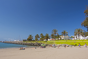 Pasito Blanco beach in south Gran Canaria