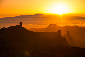 Roque Nublo Sunset