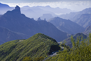 Gran Canaria highlands and forest