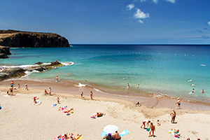 Sardina del Norte beach in north west Gran Canaria