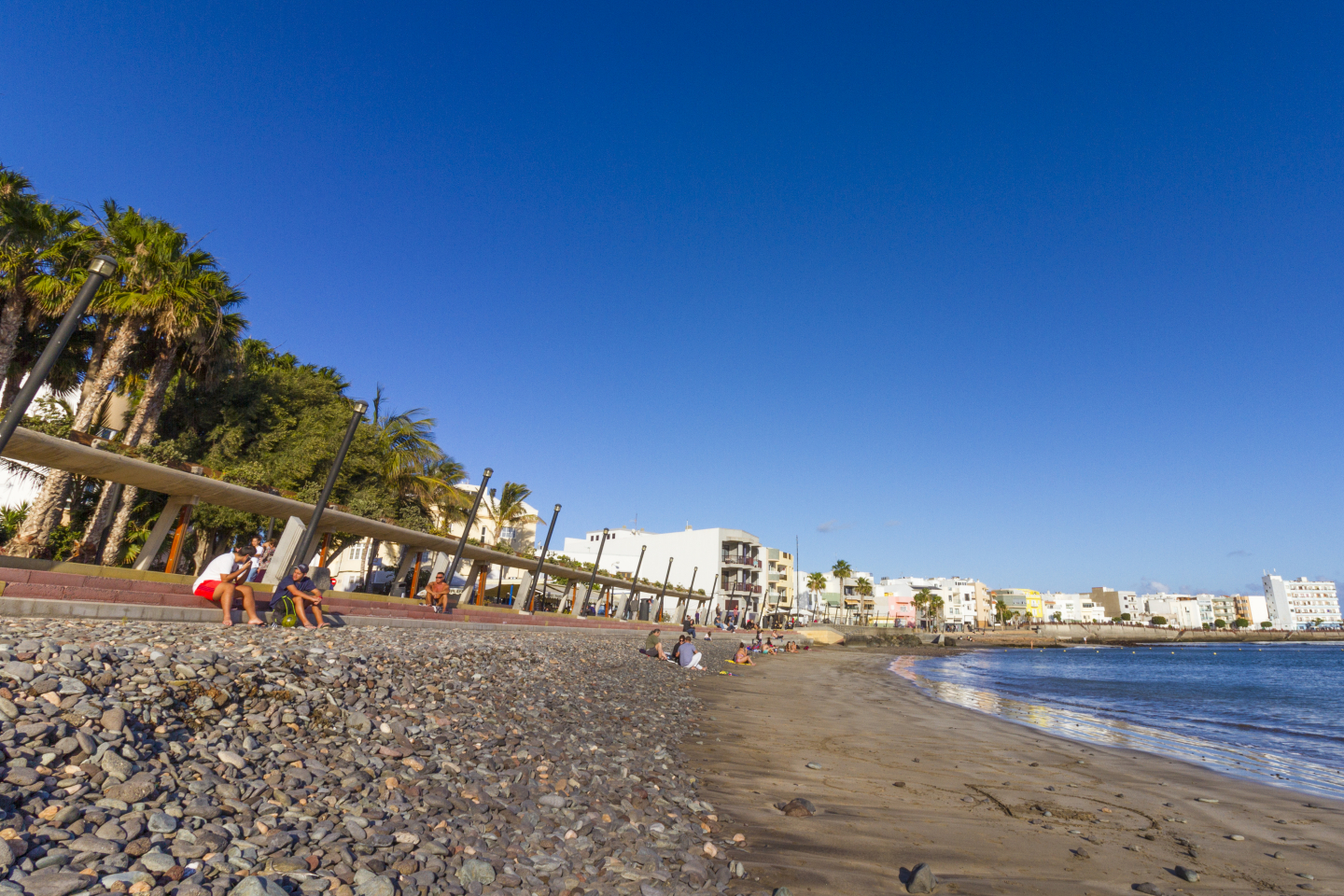 Arinaga beach in Gran Canaria earned a 2018 Blue Flag