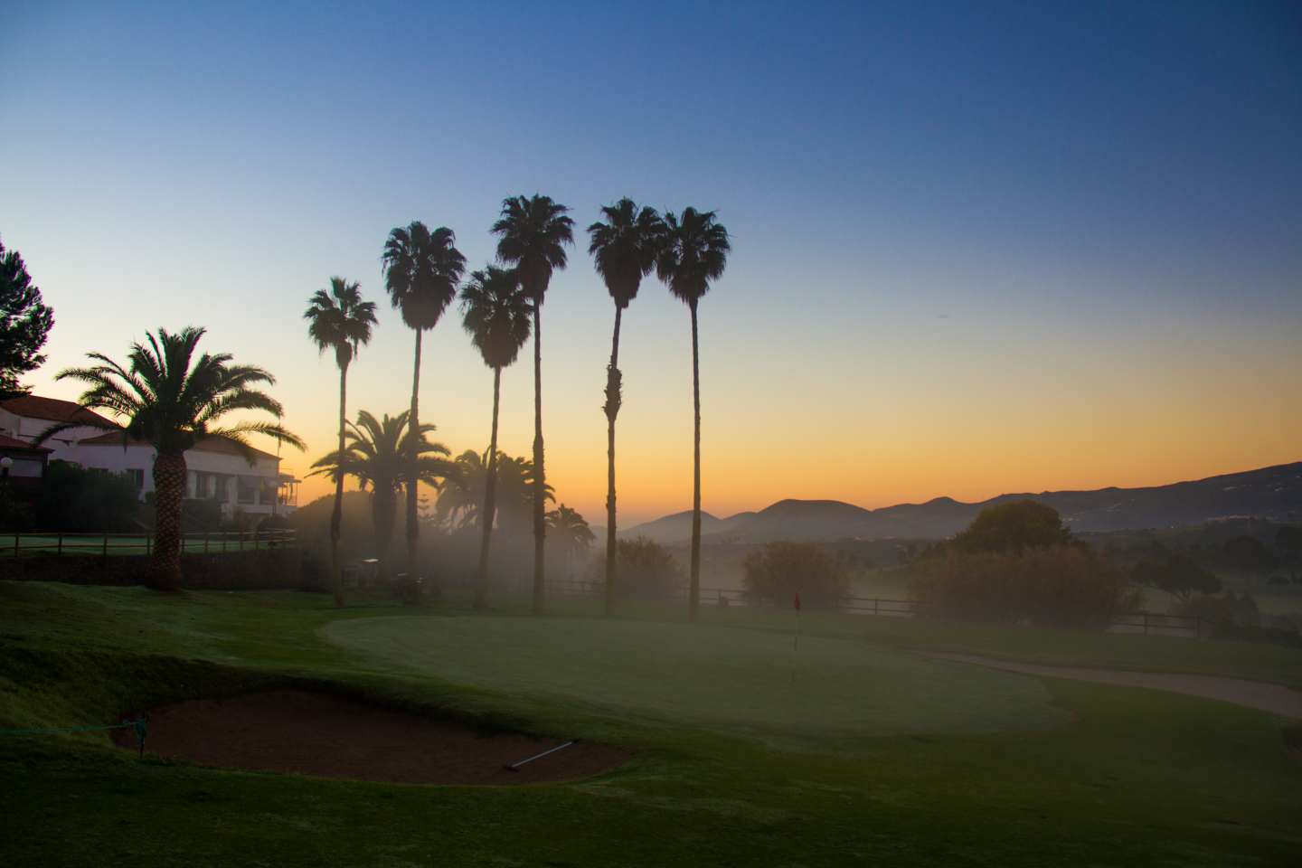 Bandama Golf course in Gran Canaria