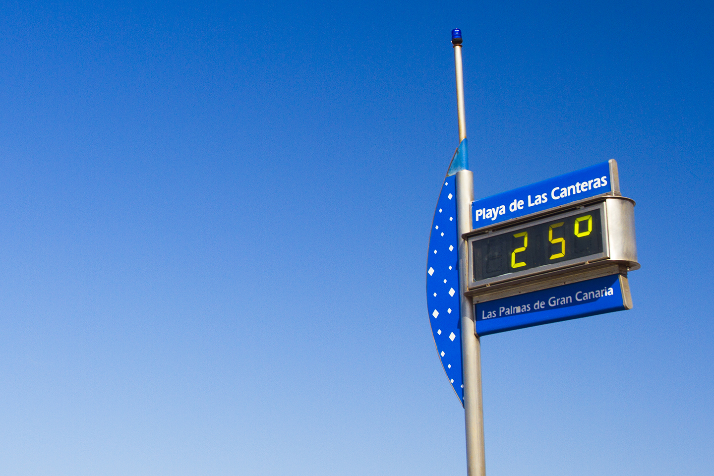 Gran Canaria temperatures in December