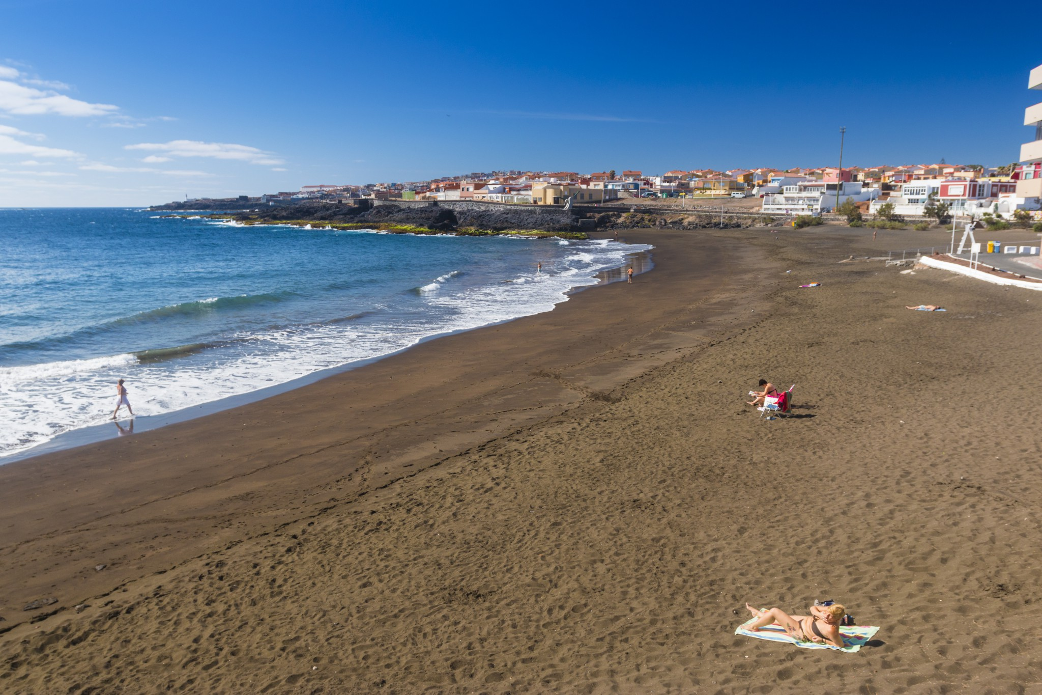 La Garita beach in east Gran Canaria has a Blue Flag