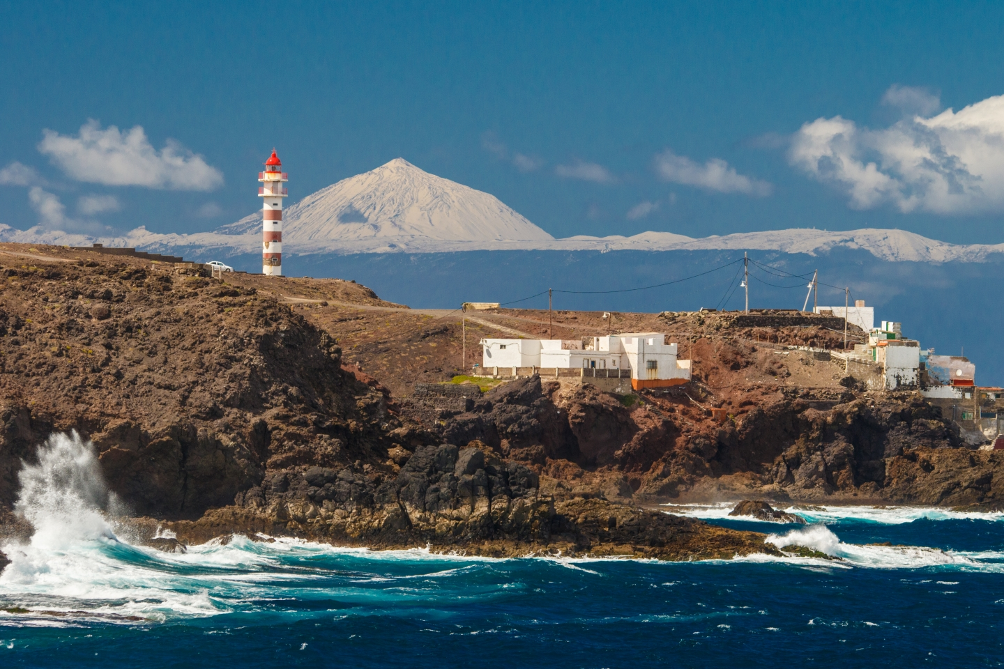 Sardina lighthouse in north west Gran Canaria