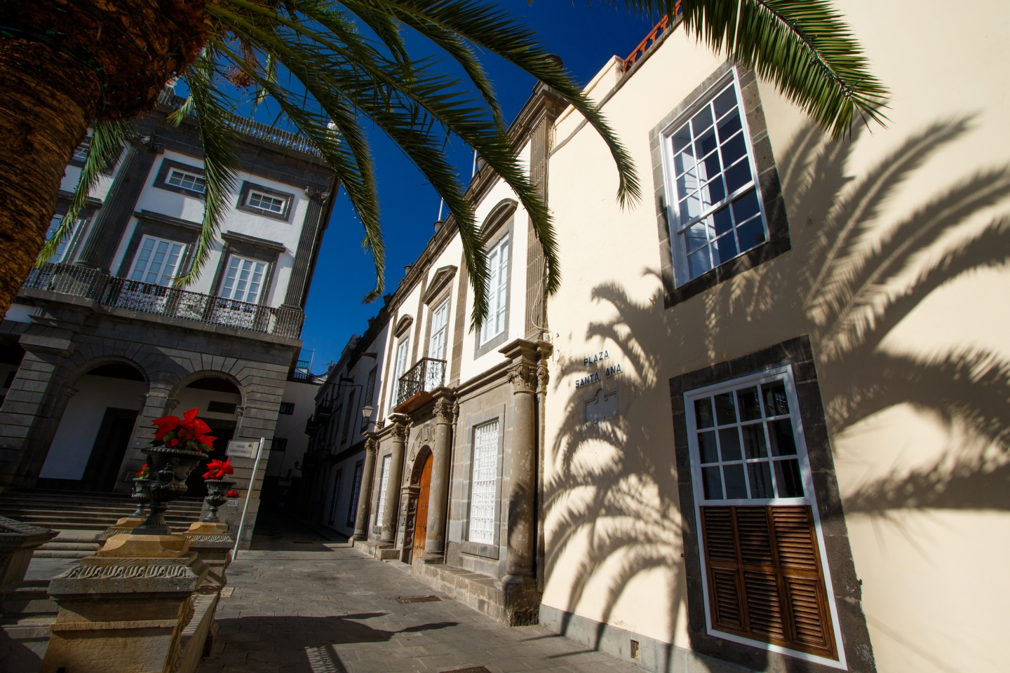 Vegueta old town in Gran Canaria is over 500 years old