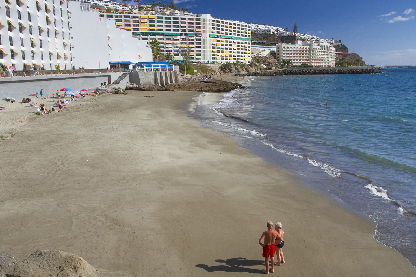 Patalavaca beach in south Gran Canaria