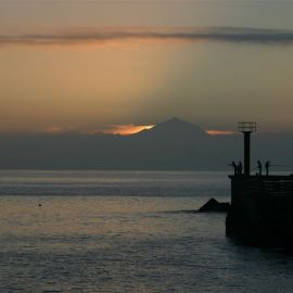 sardina_harbour_with_the_teide_in_the_back