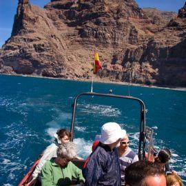 Boat trip to Güigüi