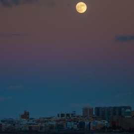 The moon over Gran Canaria_12