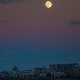 The moon over Gran Canaria_12