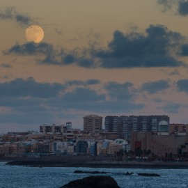 The moon over Gran Canaria_13