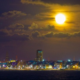 The moon over Gran Canaria_1
