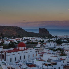 The moon over Gran Canaria_22