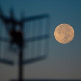The moon over Gran Canaria_23