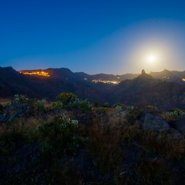 The moon over Gran Canaria_29