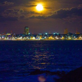 The moon over Gran Canaria_2