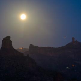 The moon over Gran Canaria_30