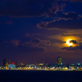 The moon over Gran Canaria_3
