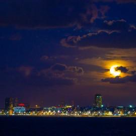 The moon over Gran Canaria_3