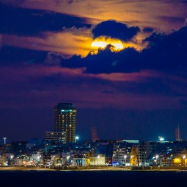 The moon over Gran Canaria_4
