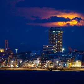 The moon over Gran Canaria_5