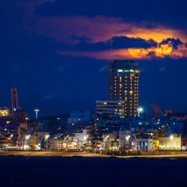 The moon over Gran Canaria_5