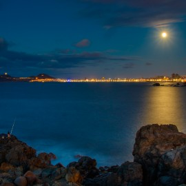 The moon over Gran Canaria_7