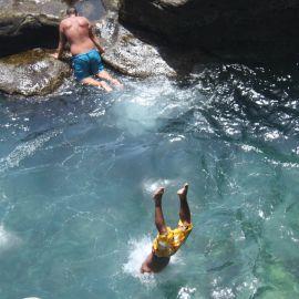Summer on the rocks