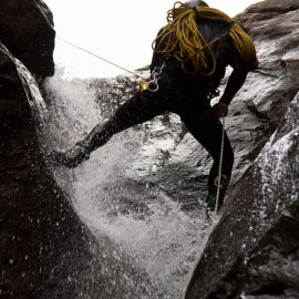 Canyoning or Barranquismo