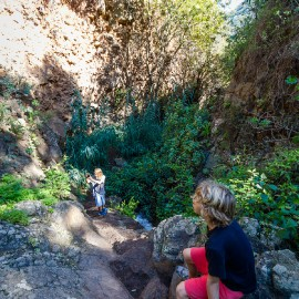 Hiking in the Barranco de los Cernicalos