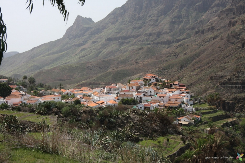 Fataga Village in south Gran Canaria