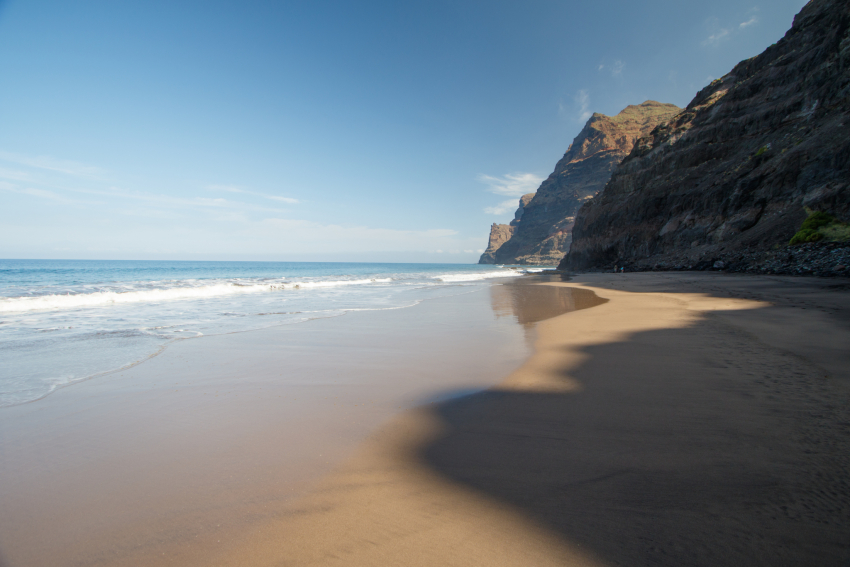 Güi Güi beach in west Gran Canaria
