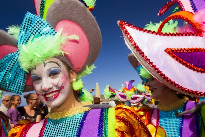 Carnival in Gran Canaria lasts for a month