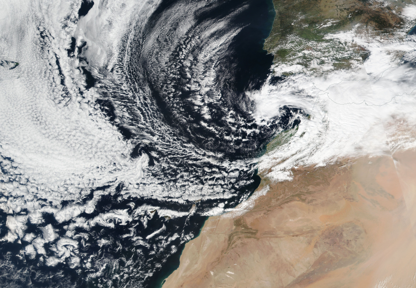 Gran Canaria weather: A cold drop is heading slowly for the Canary Islands