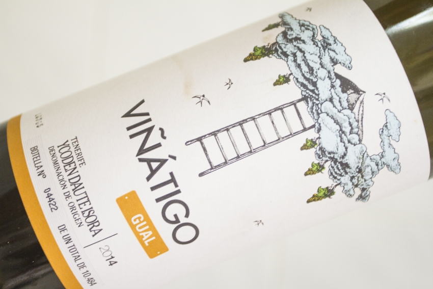 Viñatigo's Gual varietal wine is a must try