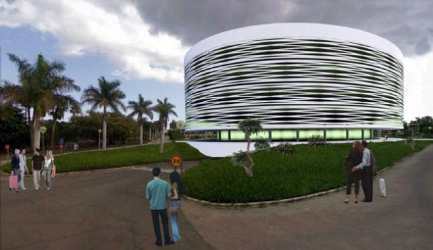 The new El Corte Inglés next to Faro II will look like this