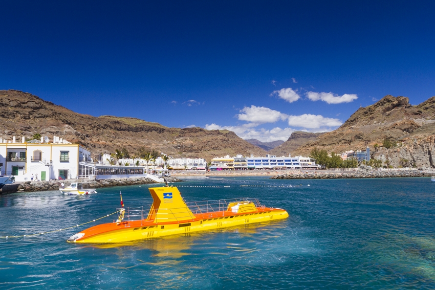 The Yellow Submarine trip is a Puerto de Mogán must