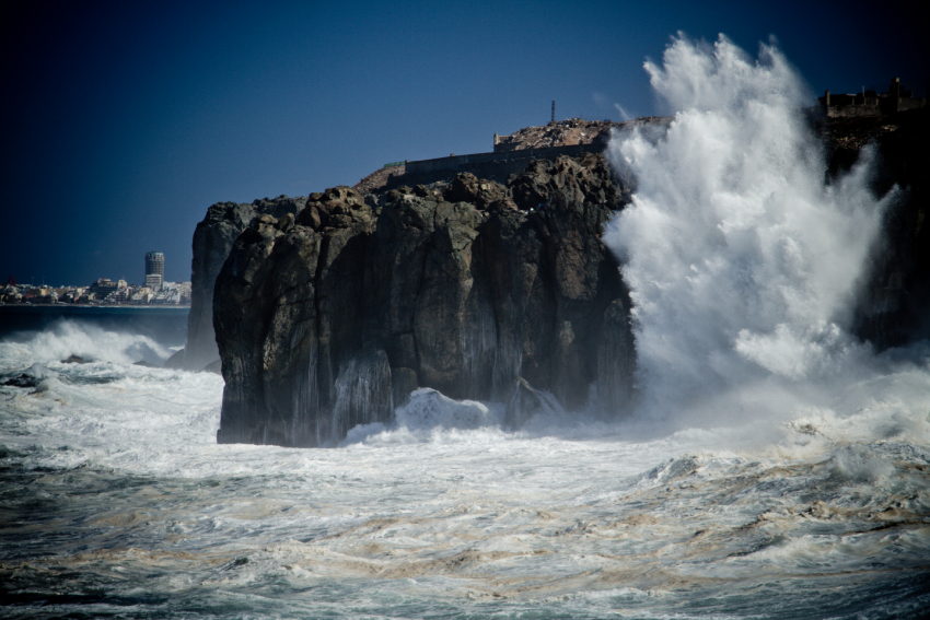 Gran Canaria weather Forecast: Huge waves expected tomorrow along the North Shore