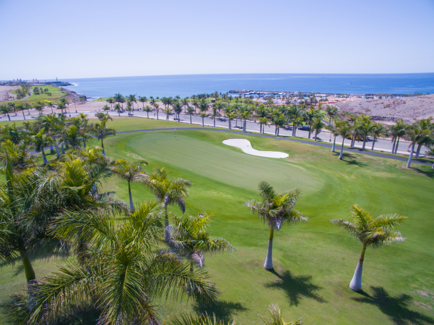 The Meloneras golf course close to Maspalomas