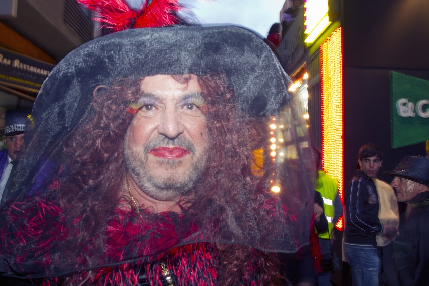 Canarian men like dressing as women, but only for carnival
