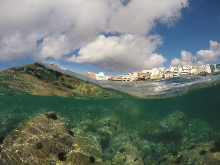 One of north Gran Canaria's many secret local beaches