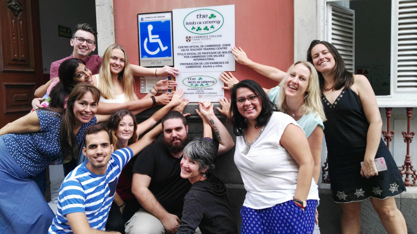 The Irish Academy is the only place in the Canary Islands that offers CELTA TEFL courses