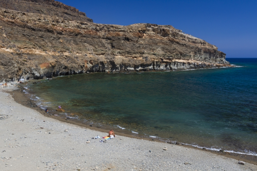 Medio Almud beach in south Gran Canaria
