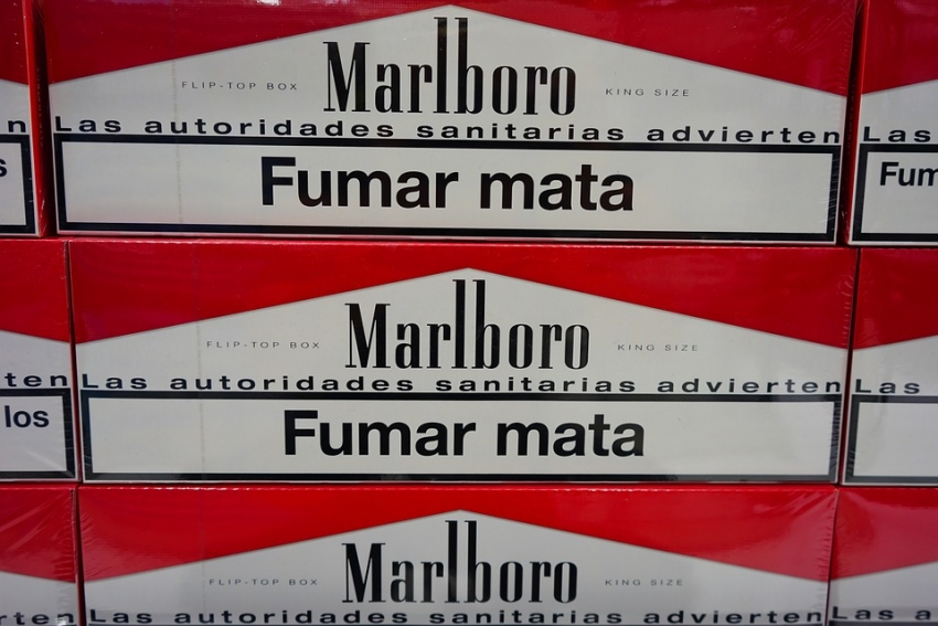 Cigarettes are cheaper in town than in the duty free