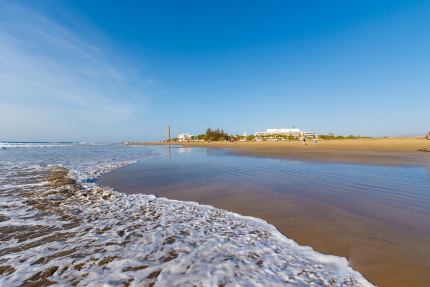 Maspalomas In Spain's Top Ten Blue Flag Beaches