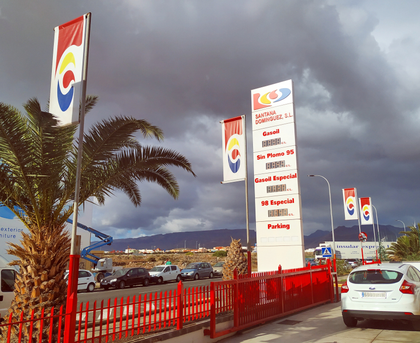 Santana Dominguez petrol stations sell the cheapest petrol in Gran Canaria